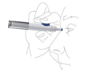 eye drop dispenser technologies, eye-lid control, connectivity improve compliance.